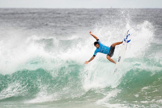 Alex Ribeiro, Newcastle Surfest 2019, Merewether Beach, Austrália. Foto: WSL / Tom Bennett.