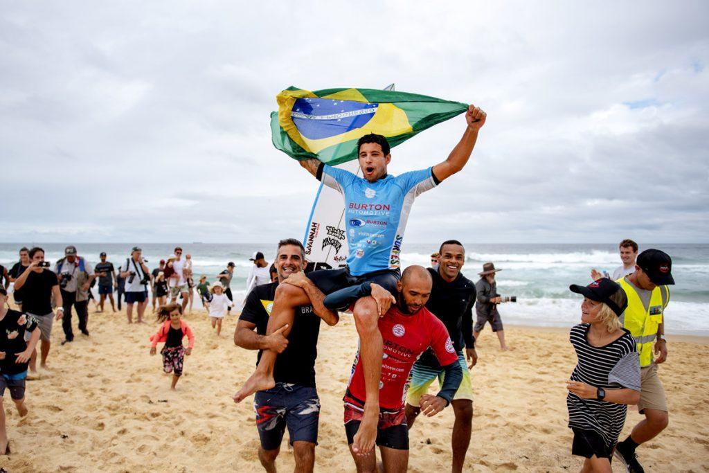 Brasileiro durante a vitória no QS 6.000 de Newcastle neste ano.