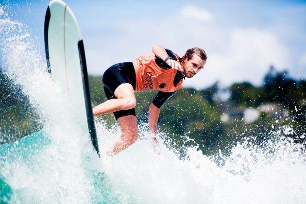 Steve Sawyer, Noosa Longboard Open 2019, Austrália. Foto: WSL / Jack Barripp.