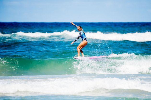 Kirra Seale, Noosa Longboard Open 2019, Austrália. Foto: WSL / Jack Barripp.