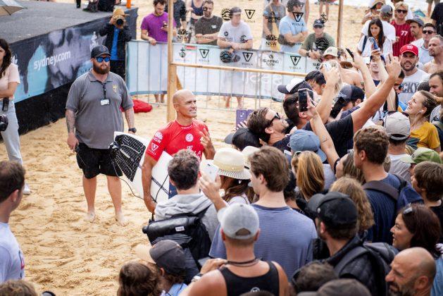 Kelly Slater, Vissla Sydney Surf Pro 2019, Manly Beach, Austrália. Foto: WSL / Tom Bennett.