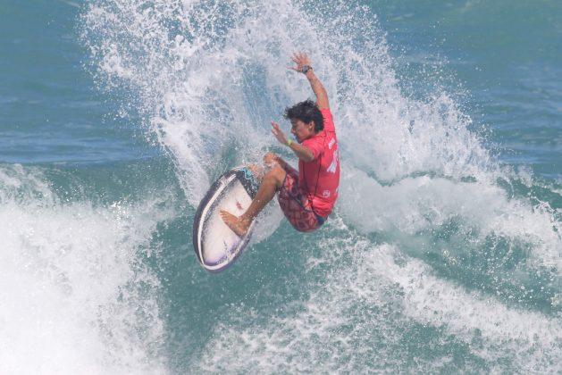 Uriel Sposaro, Floripa Surf Pro 2019, Joaquina, Florianópolis (SC). Foto: Basilio Ruy/P.P07.