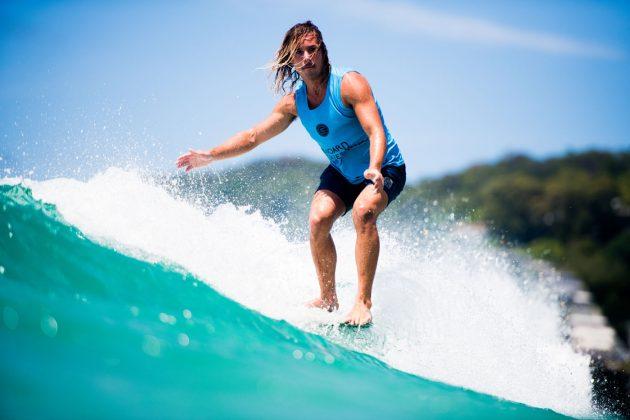 Saxon Wilson, Noosa Longboard Open 2019, Austrália. Foto: WSL / Jack Barripp.