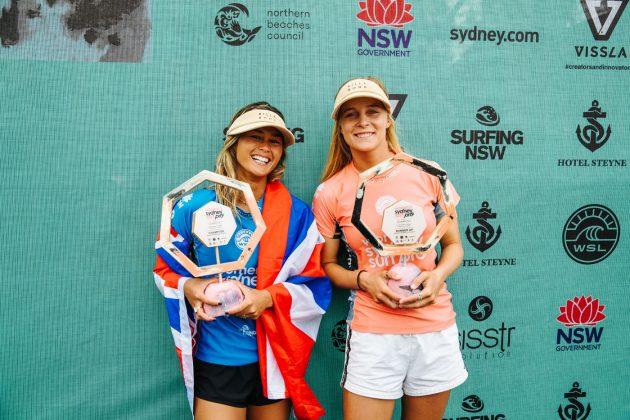 WomensFinalists7202Manly19Dunbar, Vissla Sydney Surf Pro 2019, Manly Beach, Austrália. Foto: WSL / Dunbar.