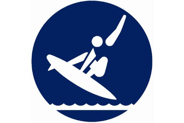 Pictograma Surfe, Olimpíadas de Tóquio 2020. Foto: Reprodução.