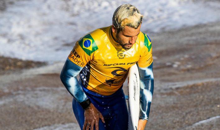 Italo Ferreira, Rip Curl Pro Bells Beach 2019, Austrália. Foto: Divulgação / WSL.