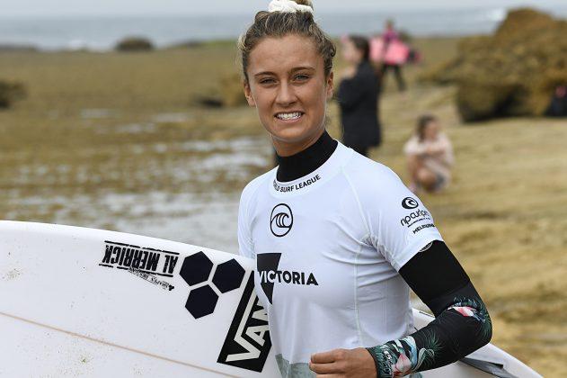 Kirra-Belle Olsson, Rip Curl Pro Trials 2019, Winkipop, Austrália. Foto: Divulgação.