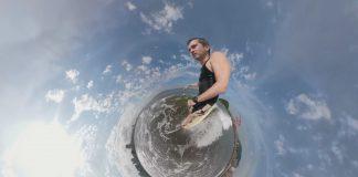 Longboarder high-tech