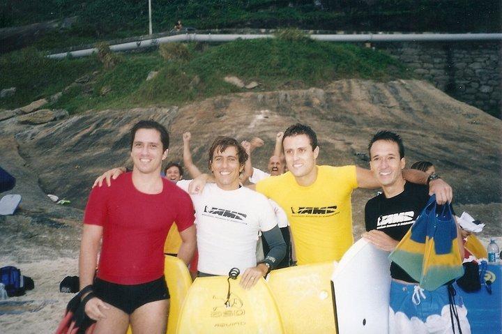 Final Master 2003 em São Conrado.