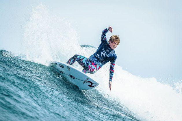 Xavier Huxtable, Rip Curl Pro Bells Beach 2019, Winkipop, Austrália. Foto: WSL / Dunbar.