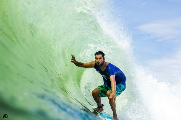 Juliano Secco, Praia Brava, Itajaí (SC). Foto: André Deichmann.