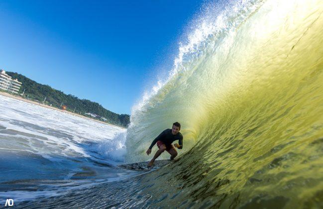 Gustavo, Praia Brava, Itajaí (SC). Foto: André Deichmann.