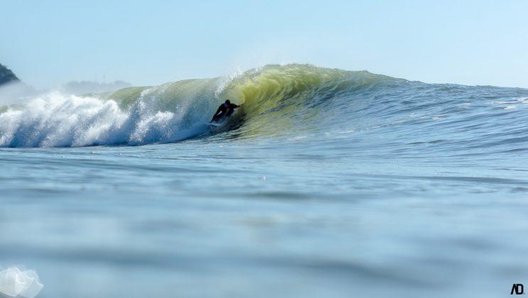 Guilherme Flores, Praia Brava, Itajaí (SC). Foto: André Deichmann.