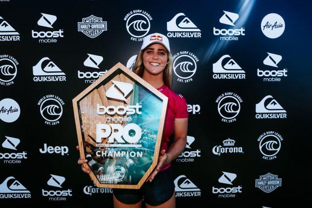 Caroline Marks, Pro Gold Coast 2019, Duranbah, Austrália. Foto: WSL / Cestari.