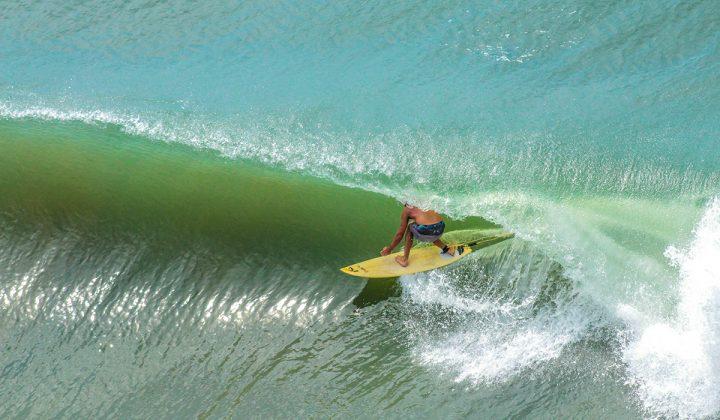 Ramon Selau, Praia da Cal, Torres (RS). Foto: Rodolfo Martins.