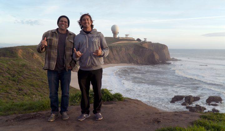 Ricardo Taveira e Pedro Bala, Califórnia (EUA). Foto: Arquivo pessoal.
