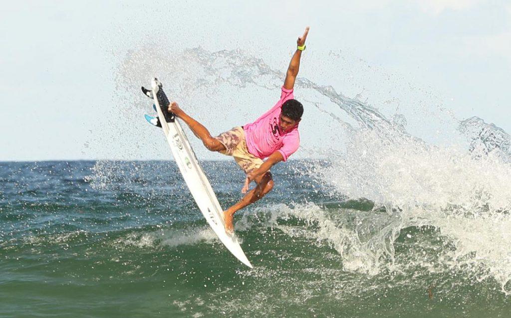Fabricio Bulhões é o campeão da categoria Pro / Am em Canavieiras (foto de arquivo).