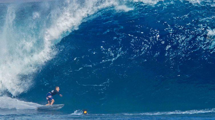 Derek Ho, Pipeline, North Shore de Oahu, Havaí. Foto: Bruno Lemos / Lemosimages.com.