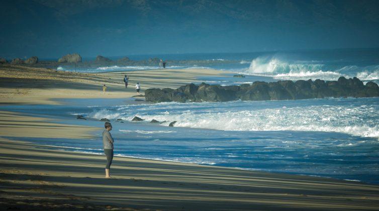 Pipeline, North Shore de Oahu, Havaí. Foto: Bruno Lemos / Sony Brasil.