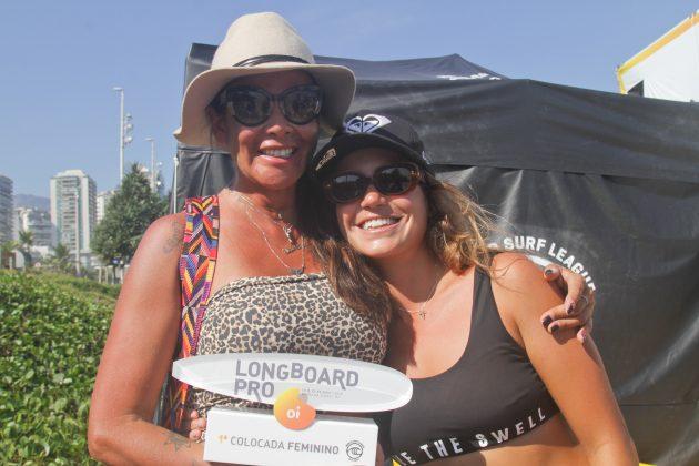 Chloé e Ana Calmon, Oi Longboard Pro 2019, Barra da Tijuca, Rio de Janeiro (RJ). Foto: Pedro Monteiro.