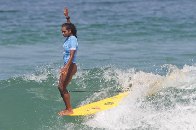 Maria Fernanda Reyes, Oi Longboard Pro 2019, Barra da Tijuca, Rio de Janeiro (RJ). Foto: Pedro Monteiro.