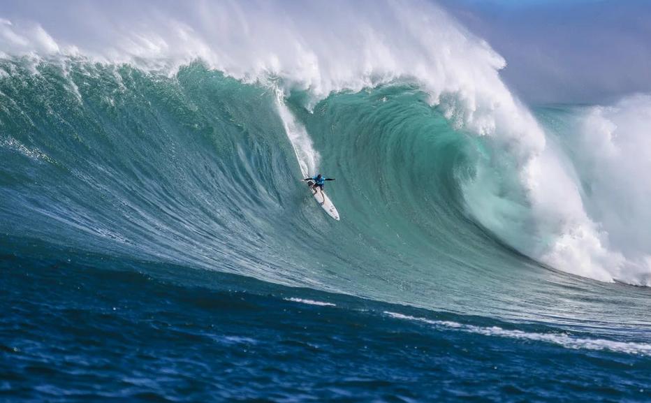 Grant Twiggy Baker, Jaws, Havaí