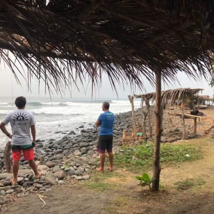 Barca do Fia, El Salvador. Foto: Arquivo pessoal Fabio Gouveia.
