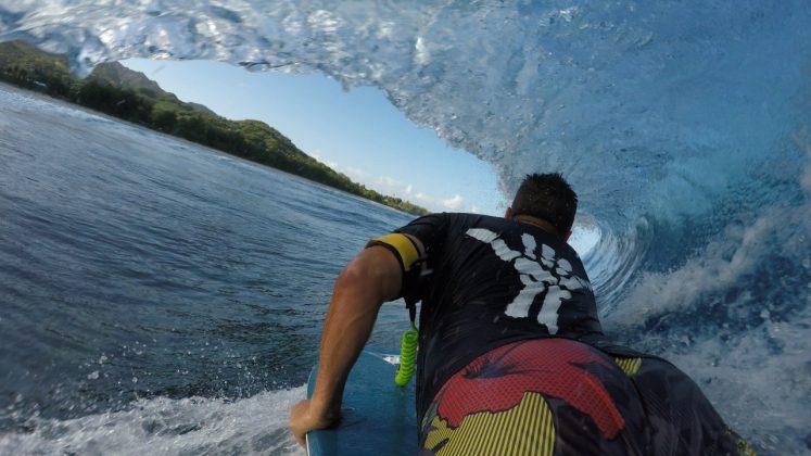 Luiz Claudio Duda, Aitutaki, Ilhas Cook. Foto: Arquivo pessoal.