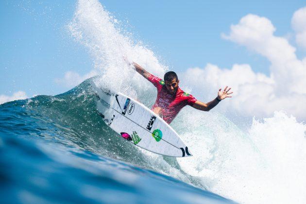 Filipe Toledo, Bali Protected 2019, Keramas, Indonésia. Foto: WSL / Dunbar.