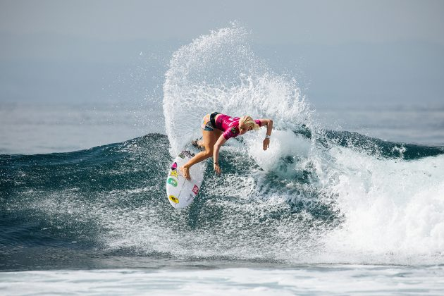 Tatiana Weston-Webb, Bali Protected 2019, Keramas, Indonésia. Foto: WSL / Dunbar.