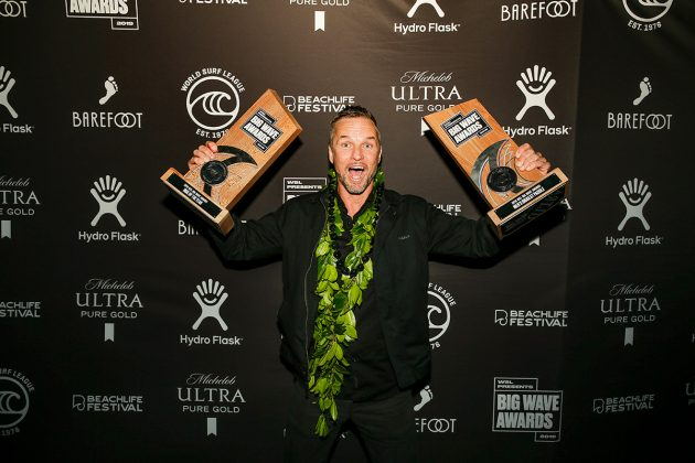 Grant Baker, Big Wave Awards, Redondo Beach, Los Angeles (EUA). Foto: © WSL / Wlodarczyk.
