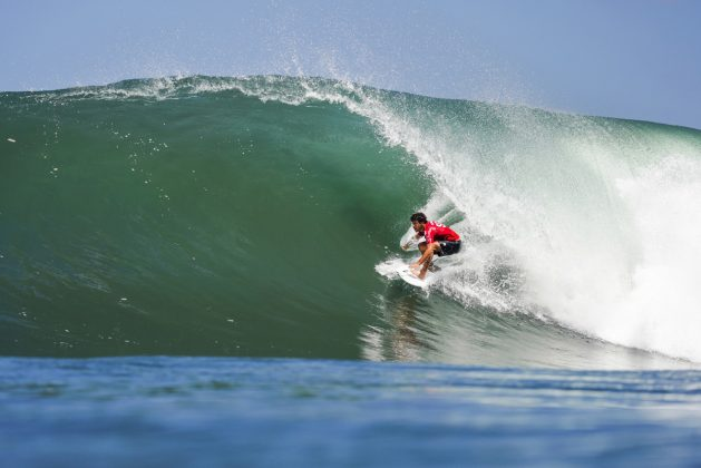 Filipe Toledo, Bali Protected 2019, Keramas, Indonésia. Foto: WSL / Dorsey.