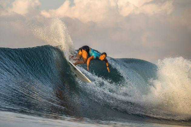 Paige Hareb, Bali Protected 2019, Keramas, Indonésia. Foto: WSL / Dunbar.