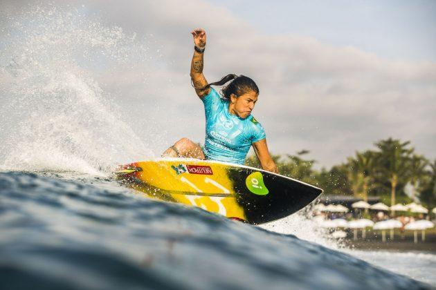 Silvana Lima, Bali Protected 2019, Keramas, Indonésia. Foto: WSL / Dunbar.