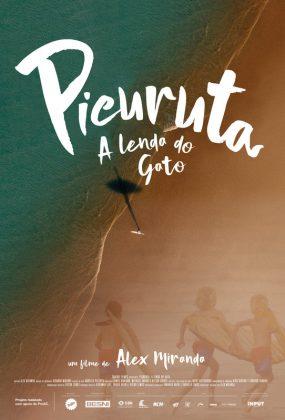Cartaz de Picuruta – A Lenda do Gato, 1º Festival Internacional de Cinema de Surf de Ubatuba. Foto: Reprodução.