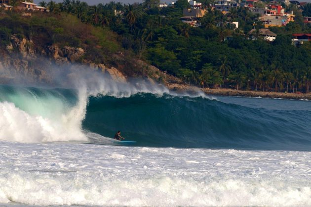 David Nagamini, Zicatela, Puerto Escondido, México. Foto: Buho Jarquin.