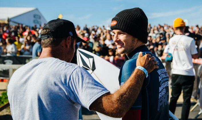Jack Robinson, Margaret River Pro 2019, The Box, Austrália. Foto: Divulgação / WSL.