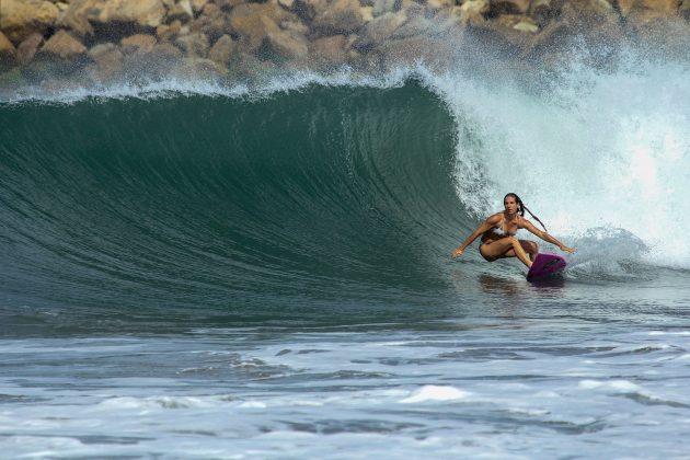 Bruna Queiroz, em Pipes, Nicarágua. Foto: Alex Thompson.