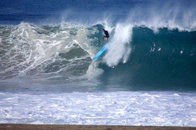 David Nagamini, Zicatela, Puerto Escondido, México. Foto: Vandieli Maia.