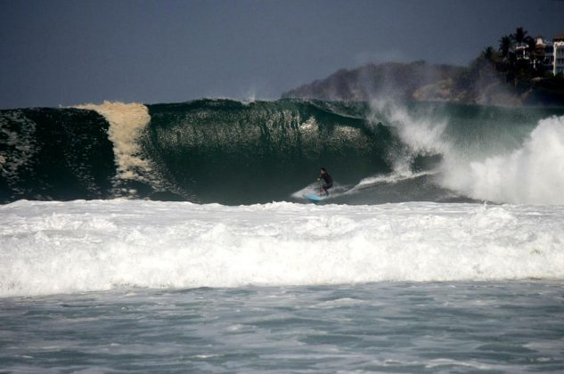 David Nagamini, Zicatela, Puerto Escondido, México. Foto: Toby Parson.