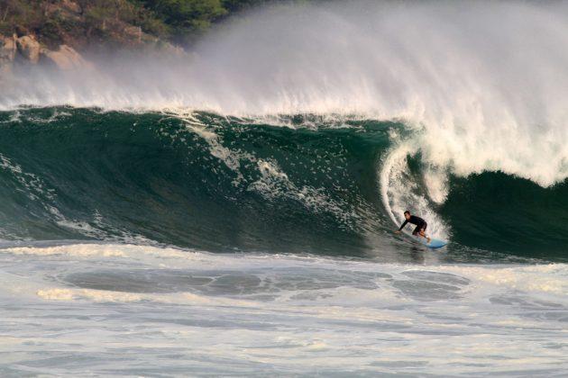 David Nagamini, Zicatela, Puerto Escondido, México. Foto: Miguel Diaz West Side.