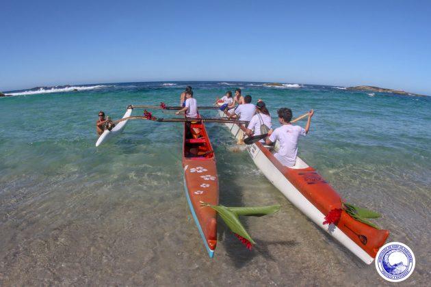 Paddle Out, Praia de Itaúna, Saquarema (RJ). Foto: Divulgação.