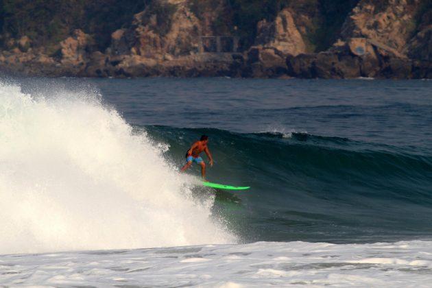 Jafe Ramos, Zicatela, Puerto Escondido, México. Foto: Miguel Diaz West Side.