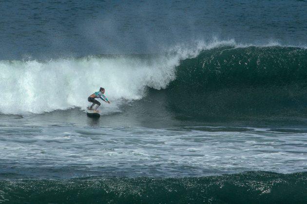Marcele Akagui, em Punta Miramar, Nicarágua. Foto: Alex Thompson.
