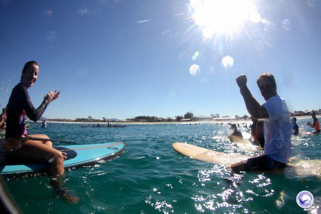Paddle Out, Praia de Itaúna, Saquarema (RJ). Foto: @lucianosuperframes.