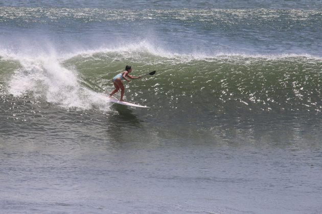 Patricia Garzon, em Punta Miramar, Nicarágua. Foto: Moana Filmes.
