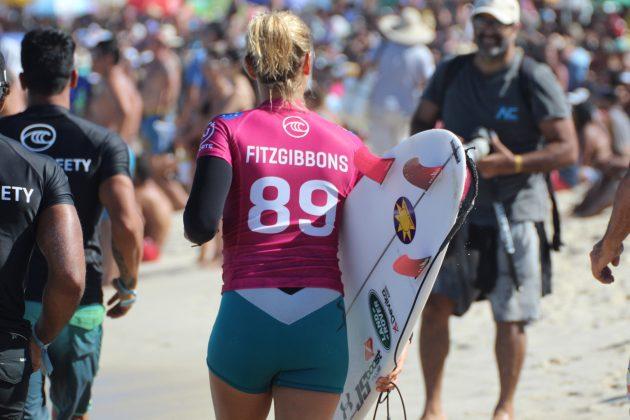 Sally Fitzgibbons, Oi Rio Pro 2019, Barrinha, Saquarema (RJ). Foto: @clmimages.