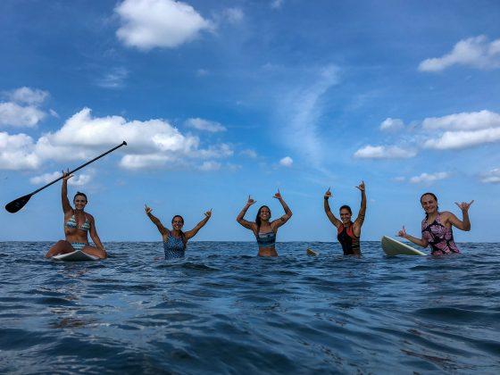 Só boas energias, em Punta Miramar, Nicarágua. Foto: Alex Thompson.