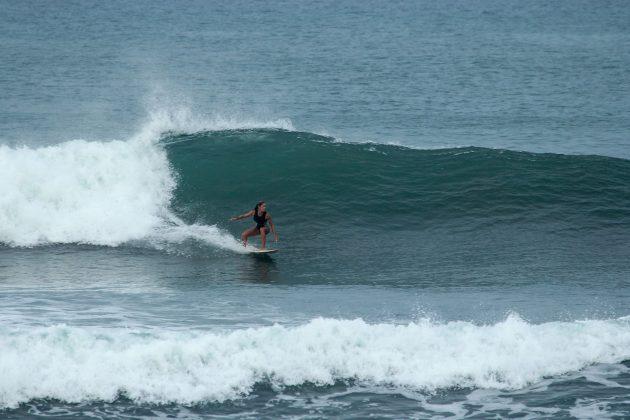 Tacia Veloso, em Punta Miramar, Nicarágua. Foto: Alex Thompson.