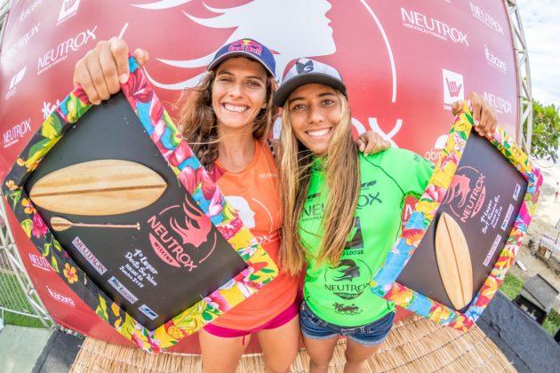 Nicole Pacelli e Júlia Duarte, Neutrox Weekend 2019, praia da Tiririca, Itacaré (BA). Foto: Fabriciano Junior / Abrasp.